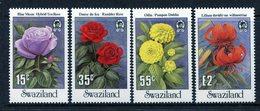 Swaziland 1987 Garden Flowers Set MNH (SG 533-536) - Swaziland (1968-...)