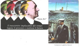 Italy-Europa Card Show Riccione 2004 Set Of 2 Cards, Tirage 20.000,mint - Privé - Hulde