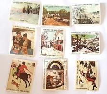 PARAGUAY TABLEAUX/PAINTING, IMPRESSIONNISTES. Yvert N° 942/7+ PA 491/3 ** MNH (Monet, Pissaro, Utrillo Etc..) - Impressionisme