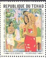 TCHAD TABLEAUX/PAINTING, IMPRESSIONNISTES. Yvert N° 212 ** MNH. Gauguin - Impressionisme