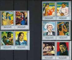 YEMEN Arab République Peinture: Painting, Impressionnistes. YVERT 192+PA82 ** MNH.  Gauguin - Impressionisme