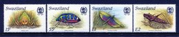 Swaziland 1988 Insects Set MNH (SG 541-544) - Swaziland (1968-...)