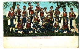 AL 581  -C P A -    MONTENEGRO -  GRUPPO  MONTENEGRINI  MONTENEGRINER - Montenegro