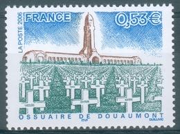France, Douaumont Ossuary, Verdun, World War I, 2006, MNH VF - Francia