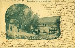 Lamalou Et Ses Environs .  BELLE ANIMATION .  Carte Précurseur . - Lamalou Les Bains