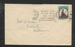 S.Rhodesia,50th Anniv Matabeleland, 2d, BULAWAYO 14.2.44 + Slogan  > S.Africa - Rhodésie Du Sud (...-1964)