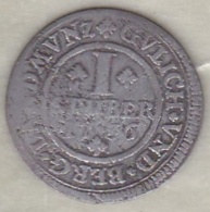 Julich Berg . 1 Stuber 1736 FO . Carl Philip . Argent . KM# 187 - Small Coins & Other Subdivisions