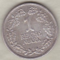 1 Reichsmark 1926 G (KARLSRUHE)  , En Argent - [ 3] 1918-1933 : República De Weimar