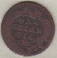 ZEELAND .1 DUIT 1776. COPPER - [ 1] …-1795 : Période Ancienne