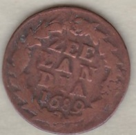 ZEELAND .1/2  DUIT 1689. COPPER - [ 1] …-1795 : Période Ancienne