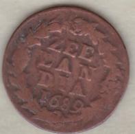 ZEELAND .1/2  DUIT 1689. COPPER - [ 1] …-1795 : Oude Periode