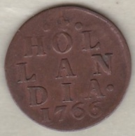 HOLLAND .1 DUIT 1766 . COPPER - [ 1] …-1795 : Former Period