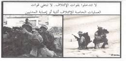 IRAQ US Propaganda Leaflet In Arabic, Code IZ D036a, Tract Flugblatt,  Condition: As New,  FREE SHIPPING WORLDWIDE - Vieux Papiers