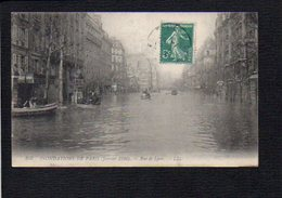 75 Paris / Inondations De Paris Janvier 1910 / Rue De Lyon - Inondations De 1910
