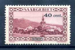 1934 SARRE SET MNH ** - Nuovi