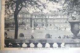 75 - PARIS *** Le Palais Du Luxembourg Et La Place*** 1757 A - Andere Monumenten, Gebouwen