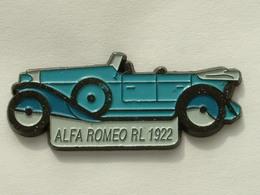 PIN'S ALFA ROMEO RL 1992 - BLEUE - Alfa Romeo