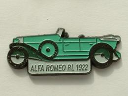 PIN'S ALFA ROMEO RL 1992 - VERTE - Alfa Romeo