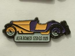 PIN'S ALFA ROMEO 1750 GS 1929 - JAUNE - Alfa Romeo