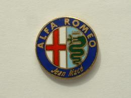 PIN'S ALFA ROMEO - JEAN MACE - Alfa Romeo