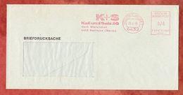 Briefdrucksache, Francotyp-Postalia F81-1065, Kali + Salz, 70 Pfg, Heringen 1988 (56386) - BRD