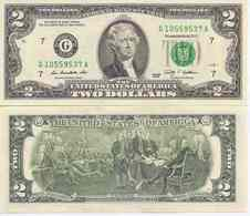 USA  2 Dollars  2009  UNC - Federal Reserve Notes (1928-...)