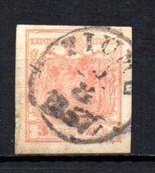 AUSTRIA 1850 CANCELLED At - 1850-1918 Impero