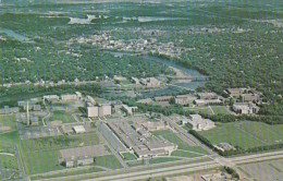 Wisconsin Eau Claire Aerial View Vocational School And Wisconsin State University - Eau Claire