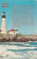 Maine Portland Head Lighthouse 1965 - Portland