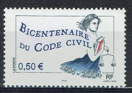 France, Napoleonic Code (French Civil Code), 2004, MNH VF - France