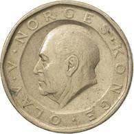 Monnaie, Norvège, Olav V, 10 Kroner, 1985, TB+, Nickel-brass, KM:427 - Norvège