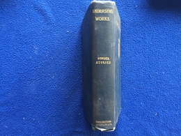 Rare Andersen's Works, Wonder Stories,  Author's Edition, Houghton-Mifflin,and Company - Exploration/Travel