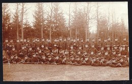 FOTOKAART BELGISCHE MILITAIREN IN LEOPOLDSBURG - BELGIAN SOLDIERS JUST BEFORE WWI - Guerre 1914-18