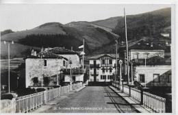 AK 0014  Frontiére Franco-Espagnole - Pont International De  Béhable Poste Espagnol Um 1941 - Brücken