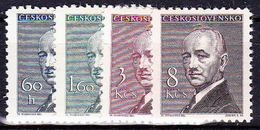 ** Tchécoslovaquie 1946 Mi 508-11 (Yv 436-9), (MNH) - Ungebraucht