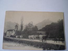 ARGELES-GAZOST (65) (Hautes-Pyrénées) : L'Eglise De LAU Et Le Pic De Viscos // Used 1908 - Argeles Gazost