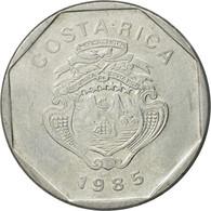 Monnaie, Costa Rica, 10 Colones, 1985, TTB, Stainless Steel, KM:215.2 - Costa Rica