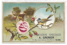 CHROMO - Chemiserie Spéciale Z. GRENIER - Reims - Chromos