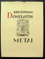 Lithuanian Book / Metai By Kristijonas Donelaitis / 1983 - Books, Magazines, Comics