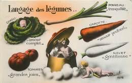 Langage Des Légumes , * 353 34 - Flowers, Plants & Trees