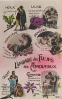 Langage Des Fleurs Des Amoureux , * 353 36 - Flowers, Plants & Trees