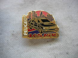 Pin's Automobile PEUGEOT 405 MI16 - Peugeot