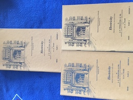 Electrictity- Set Of 3 Stapled Pamphlets, Int'l. Correspondence Schools 1949 Edition - Sciences