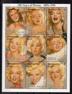 MONTSERRAT    Timbres Neufs ** De 1995    ( Ref 5580 ) Cinéma- Marilyn Monroe - Montserrat