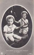 AK Prinz Wilhelm Und Prinz Louis Ferdinand Von Preußen - 1910 (36143) - Königshäuser