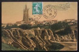 CPA COULEUR - SAINTES - LES ARENNES  Datée Du 7/7/1909 - Saintes