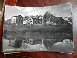 18854) COURMAYEUR LOCANDA LAGO CHECROUIT VIAGGIATA 1957 - Italy