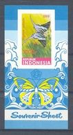 Mwe1361 FAUNA VLINDERS * IMPERF * BUTTERFLIES SCHMETTERLINGE MARIPOSAS PAPILLONS INDONESIA 1988 PF/MNH - Butterflies