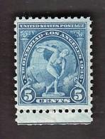 USA United States / Olympic Games Los Angeles 1932 / Athletics - Discus Thrower / Mi 349 / MNH - Verano 1932: Los Angeles