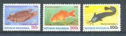 Mwe1306 FAUNA VISSEN MEERVAL FISH FISCHE POISSONS MARINE LIFE INDONESIA 1987 PF/MNH - Vissen
